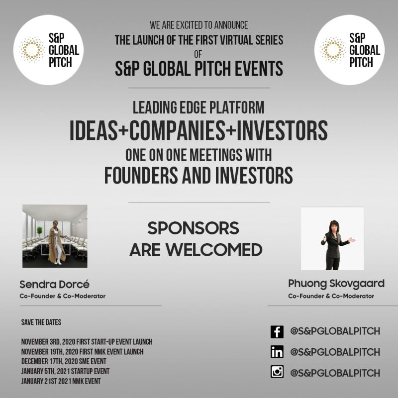 Connecting Startups and SMEs to Investors Made Ultimately Easy with S&P Global Pitch Ltd.