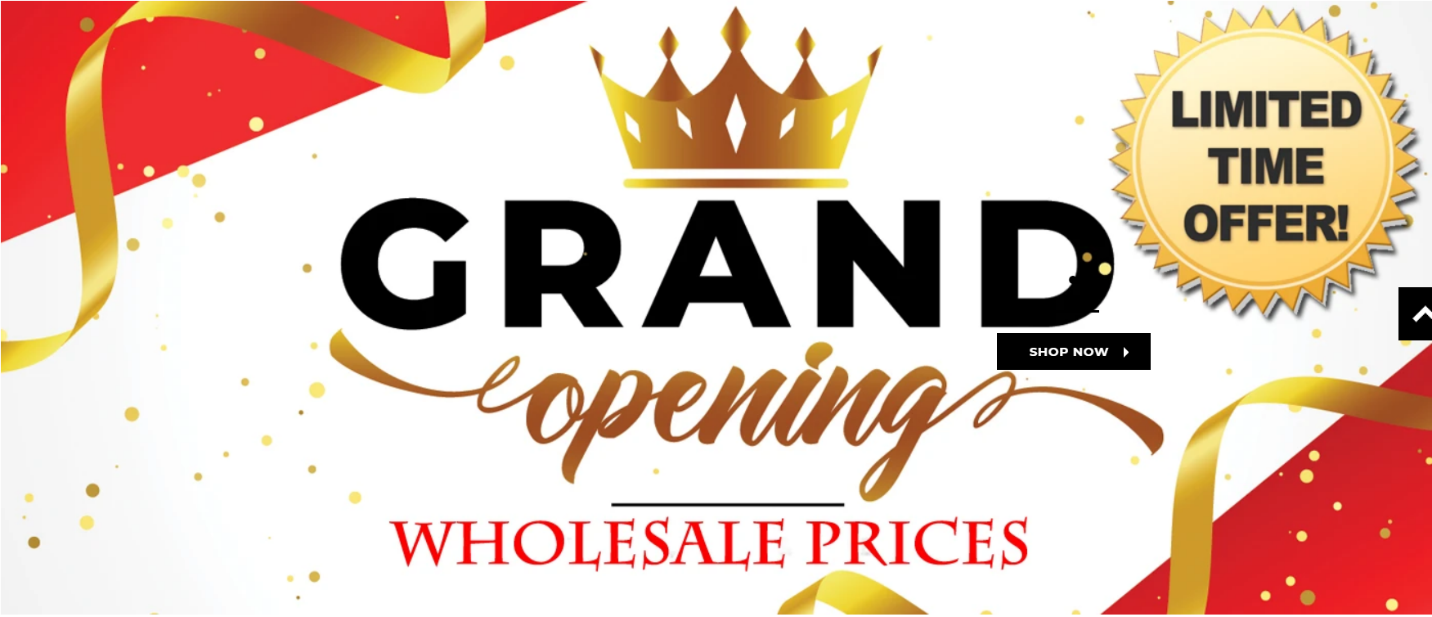 "Keenly Awaited Women's Clothing and Accessories Store ""LOTISPALM"" Announces Grand Opening Wholesale Prices"