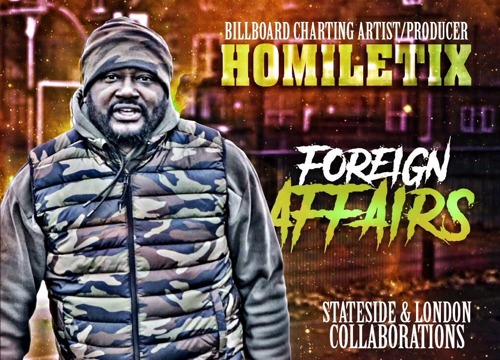 Homiletix Drops Foreign Affairs (Deluxe Edition) After Peaking At #5 With His Foreign Affairs Release