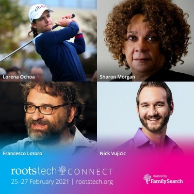 RootsTech Connect 2021 Announces First of Keynote Speakers