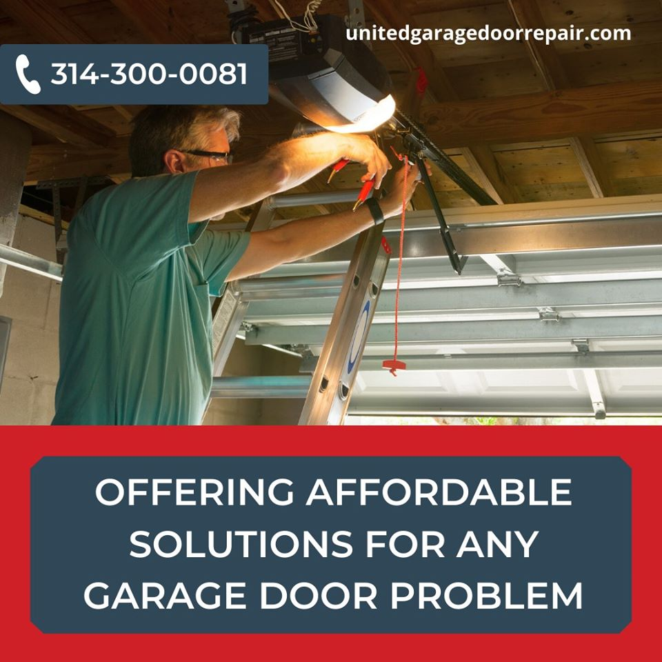 UNITED Garage Door Repair Highlights Tips to Hiring Indispensable Professionals