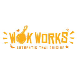 Wok Works Claims to offer Traditional Thai dishes combined with Indonesian and Chinese flavours