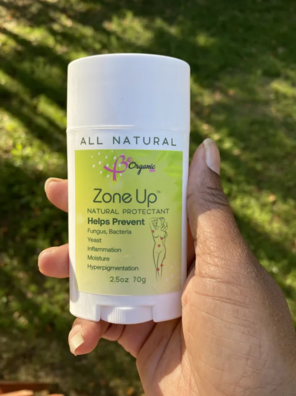 BeOrganic LLC Receives Positive Feedback for Zone Up, An All Natural Skin Protector