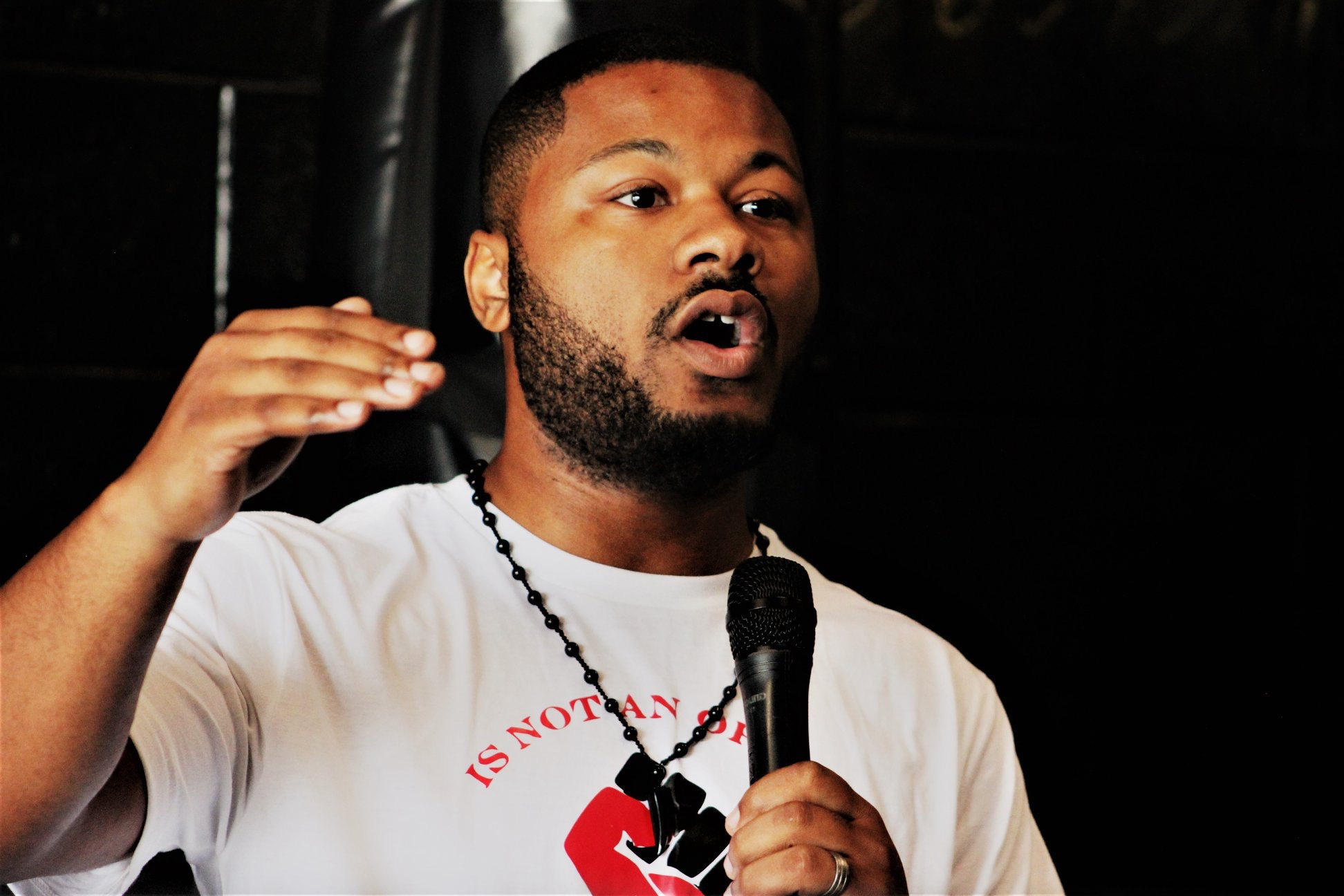 How Anthony Hyland Breaks the Status Quo With Spoken Word Poetry and Public Speaking