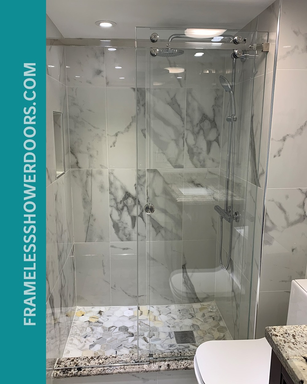 The Original Frameless Shower Doors Now Installing Sliding Shower Doors in Florida