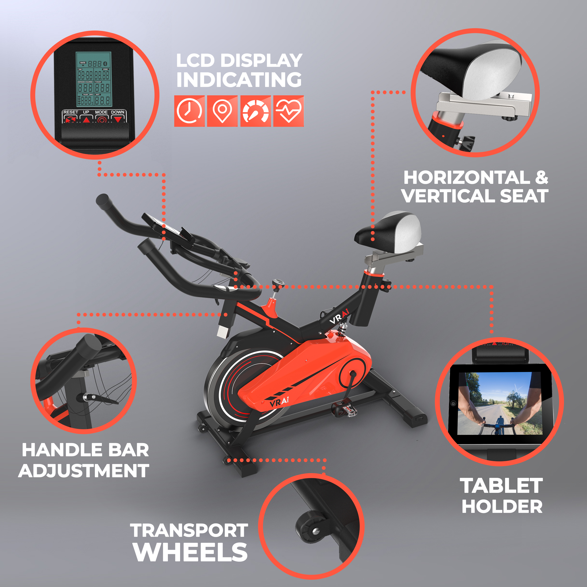 VRAi Fitness Introduces Ergonomic, Bluetooth App Compatible Spin Bike for Home Workouts at an Affordable Price, Pay Later Scheme