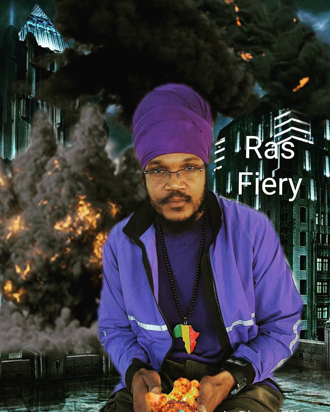 "Ras Fiery Moves Reggae Fans With His New Single ""I Nah Fear Of Babylon"""