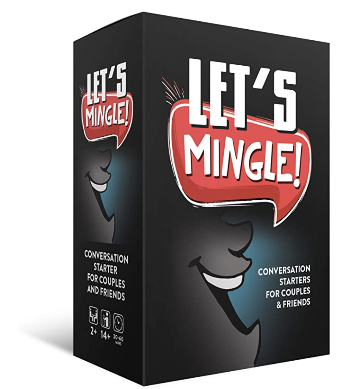 At School, Work or Home, 'Let's Mingle Conversation Starter Cards' by Fun Tribe Crew Makes Conversations Fun Again Even During The Pandemic.