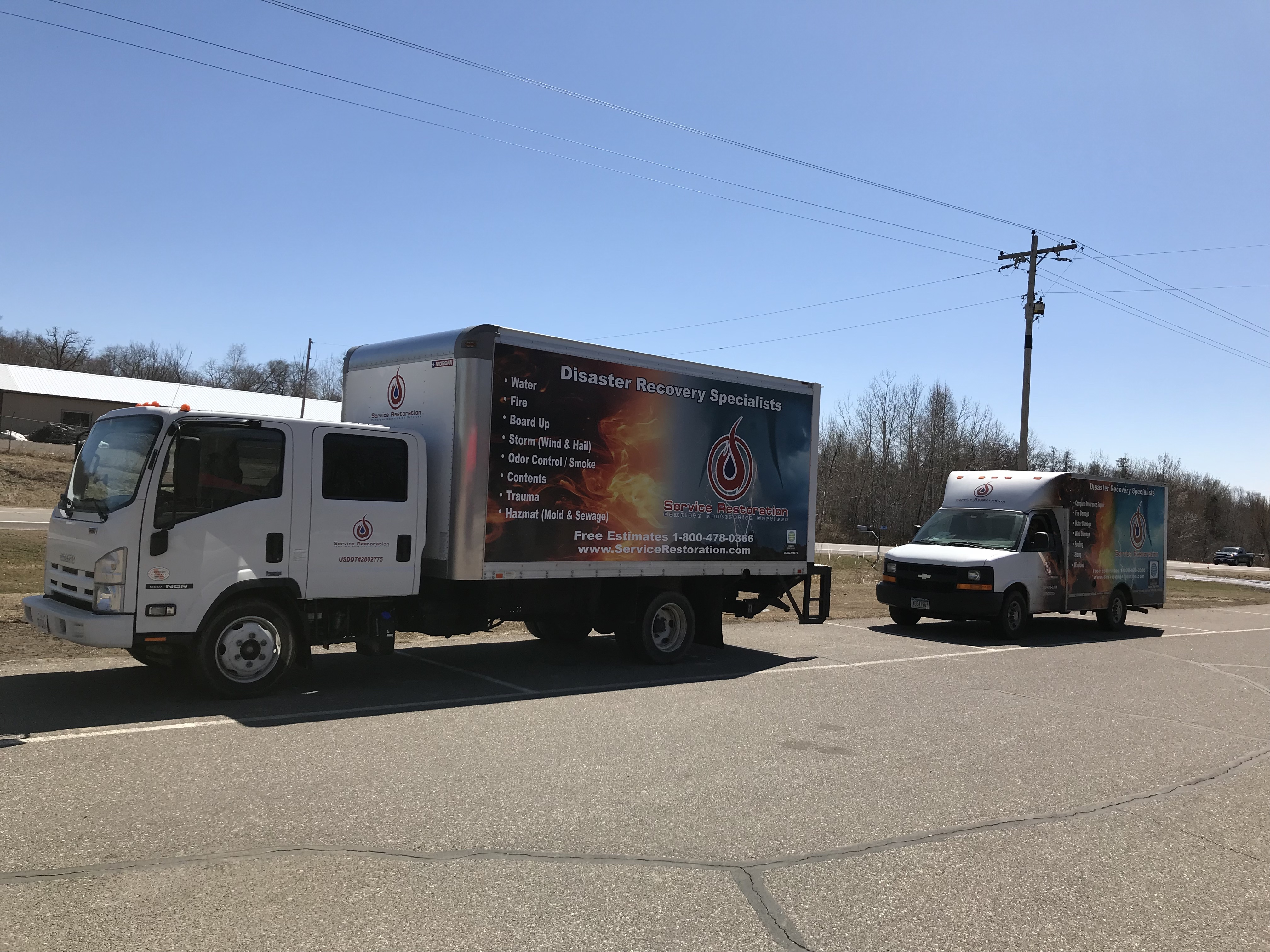 Service Restoration Inc. Charlotte offers COVID 19 Prevention and Decontamination Solutions