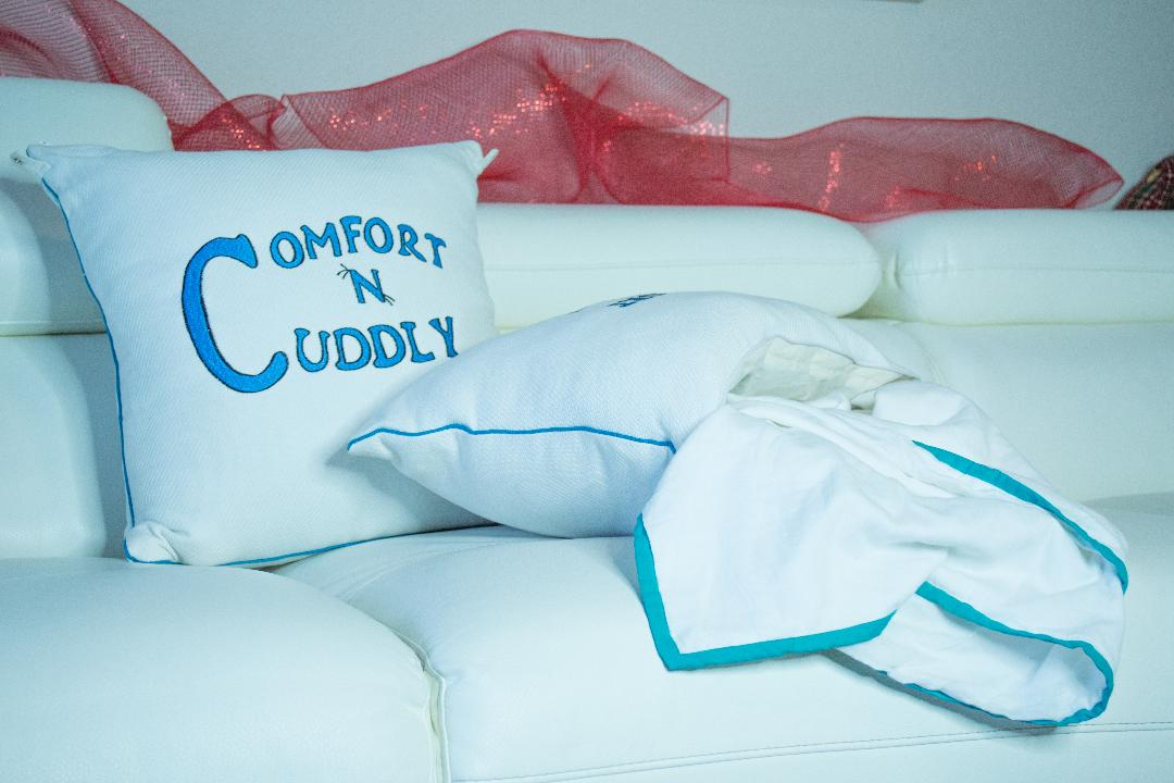 O'Shane Whyte Reinvents Lounging Through ComfortNCuddly Wearables