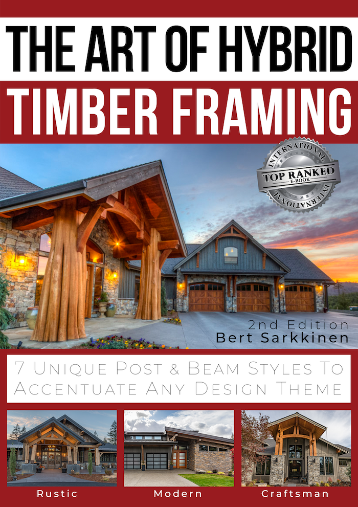The Art of Hybrid Timber Framing Brings Home, Home