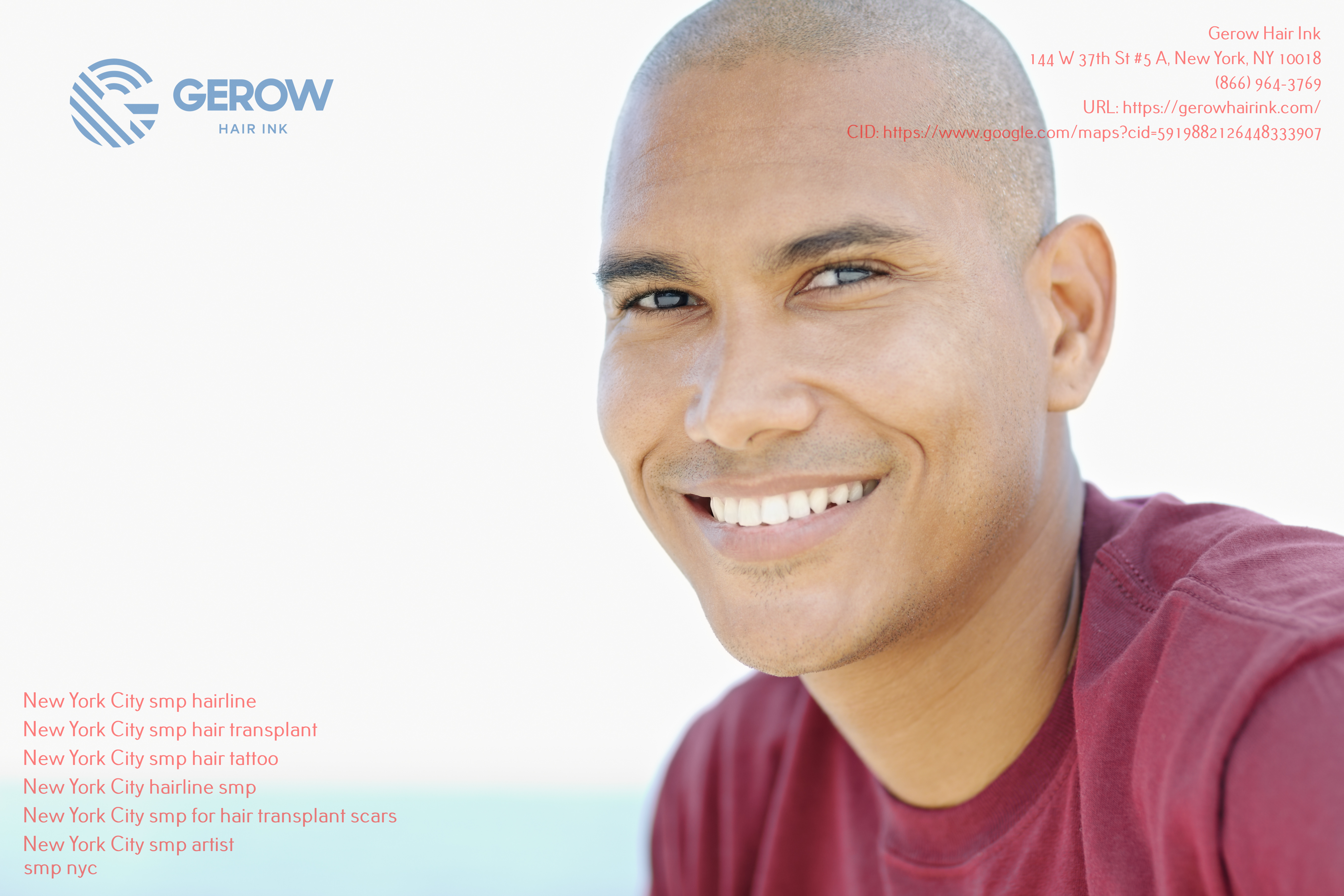 Gerow Hair Ink is dedicated to helping the people in New York City recover from hair loss or a hair transplant scar via SMP procedures