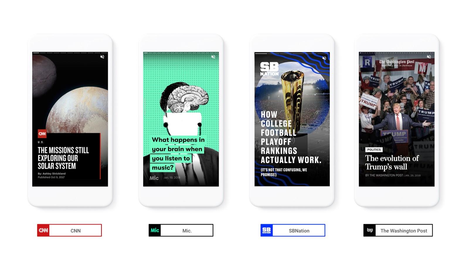 Alejandro Rioja creates new Zap to make automatic AMP Stories at scale