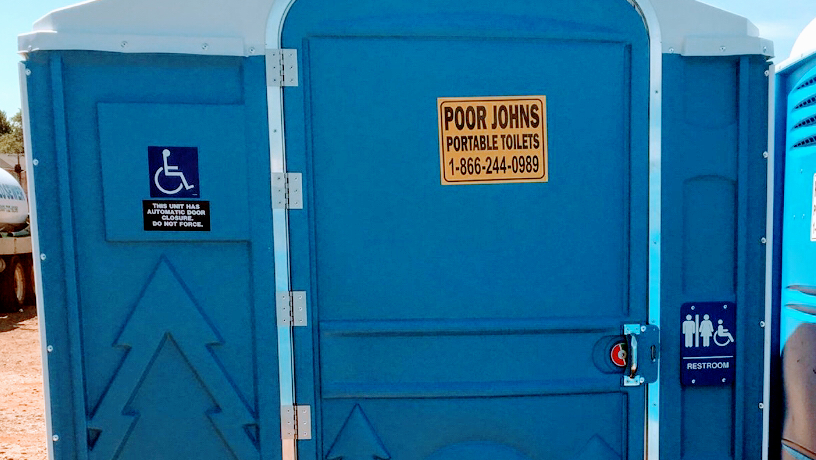 Poor John's Portable Toilets LLC Now Providing Free Quotes on Flushable and Handicapped-Accessible Toilet Rentals