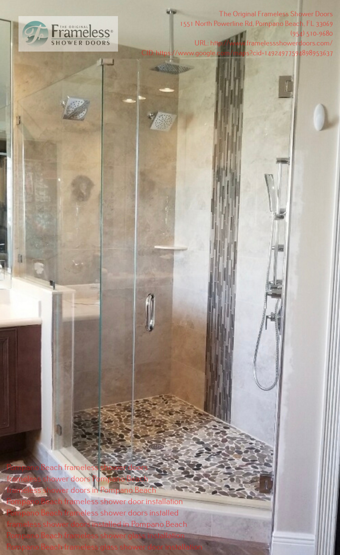 The Original Frameless Shower Doors - Pompano Beach organizes a lecture for the residents of the Pompano Beach community