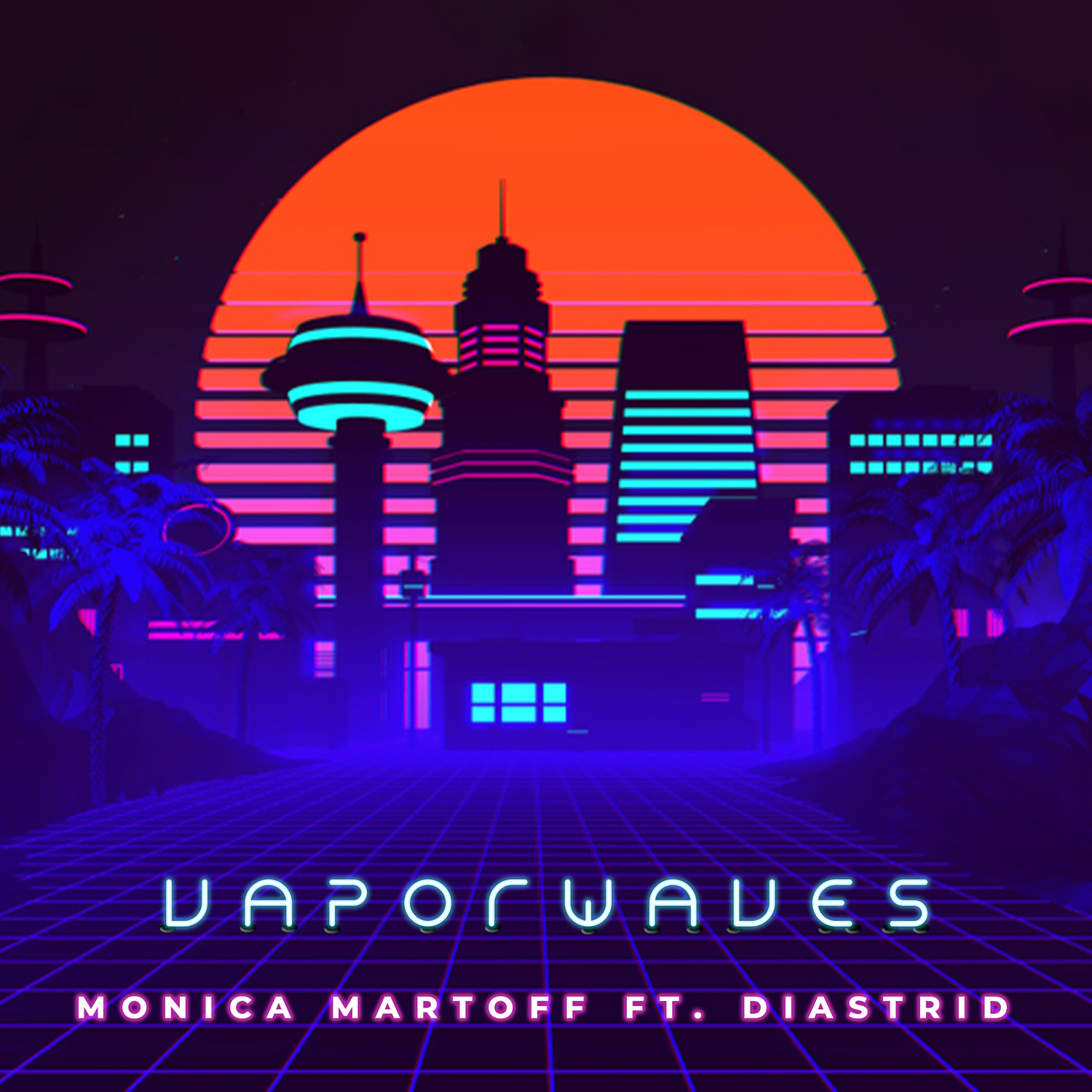 Presenting the Pop Artist, Monica Martoff and Her First EP, 'Vaporwaves'