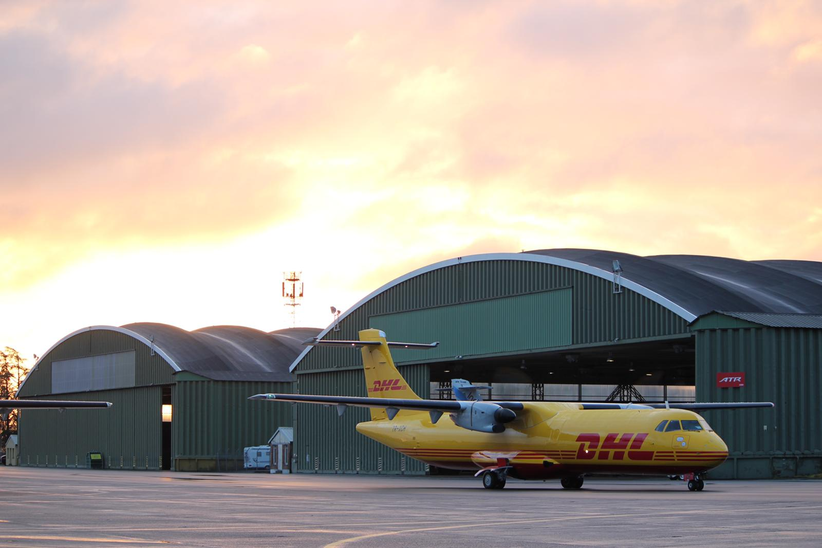 ACIA Aero Leasing delivers an ATR72-212 LCD Freighter to Solenta Aviation
