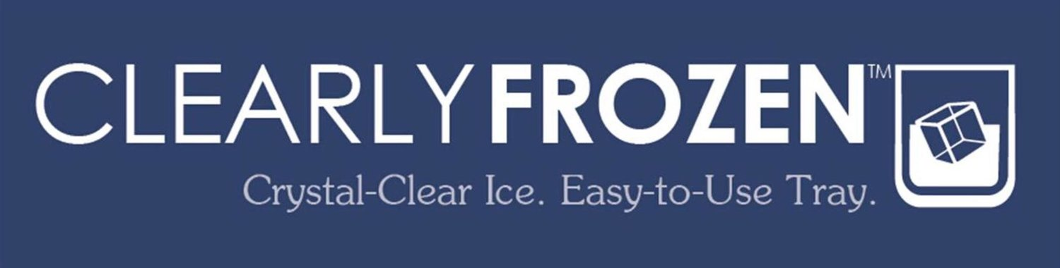Clear Ice with ClearlyFrozen Ice Trays For Pure, Odorless Ice For Homes And Restaurants