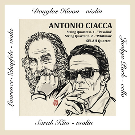 Antonio Ciacca Makes His Debut With New Album, 'String Quartet'