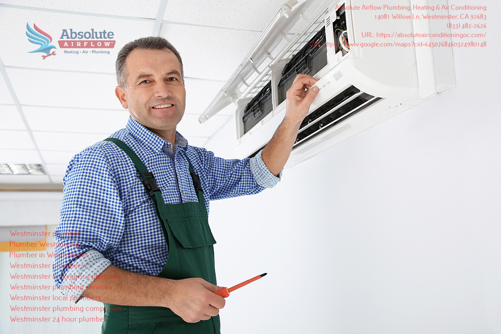 Absolute Airflow Plumbing, Heating & Air Conditioning Launches 24/7 Emergency Service in Westminster