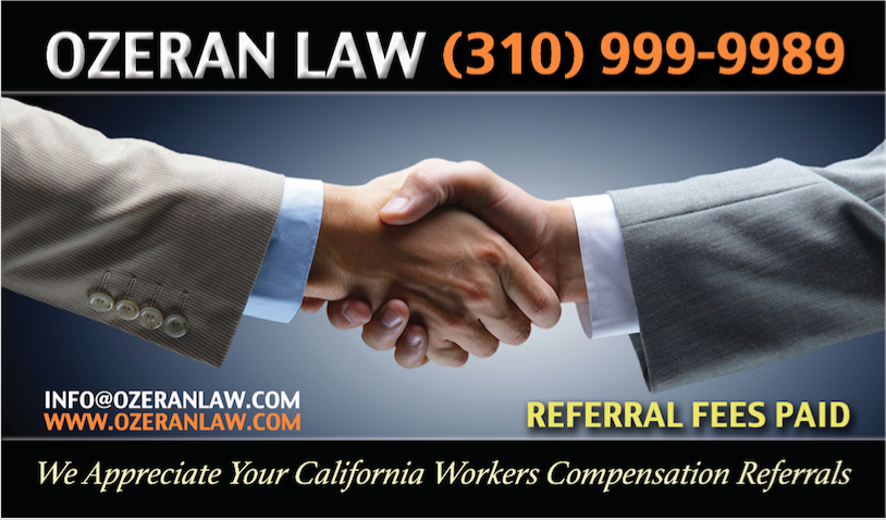 The Los Angeles Workers' Comp Lawyers at Ozeran Law Have Been Helping Injured Workers in Southern California for Over a Decade