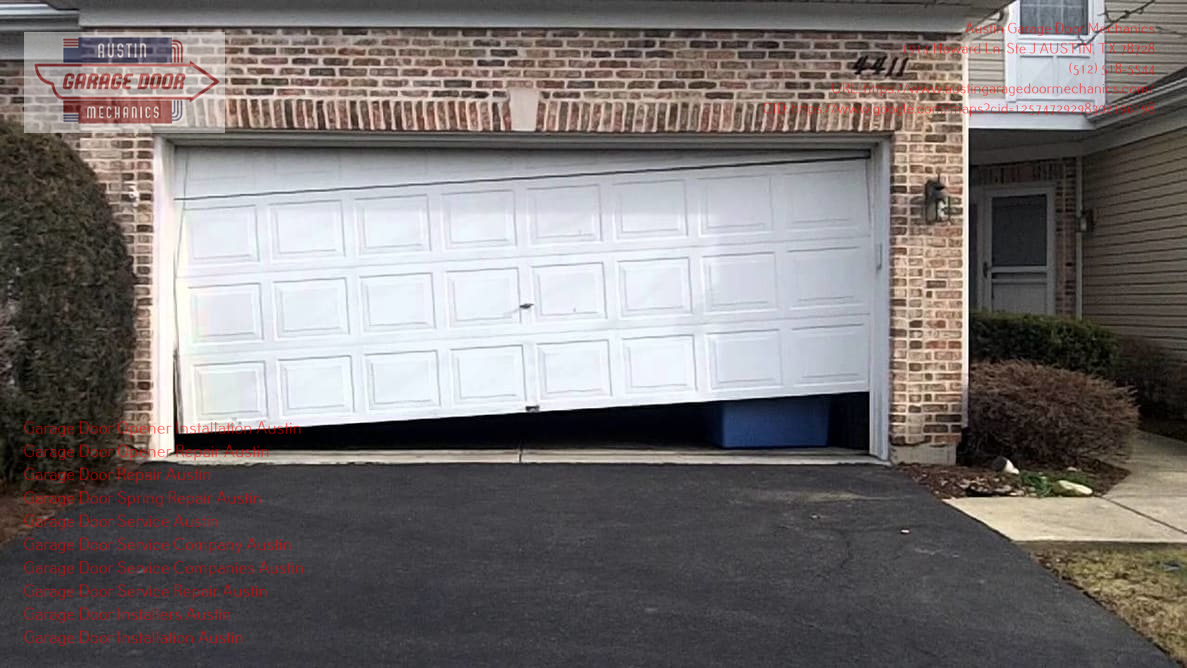 Austin Garage Door Mechanics Expounds the Scope of their Emergency Garage Door Repair Services