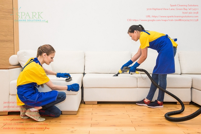 Spark Cleaning Solutions Provides Commercial Cleaning Services