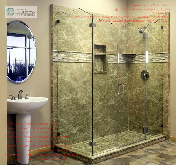 The Original Frameless Shower Doors Highlights the Attributes of their Frameless Doors
