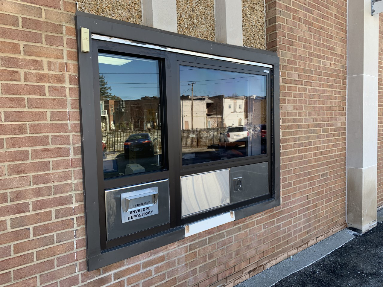 Pulaski Finance Department Installs A New Drive-Through Window With CARES Act Funds