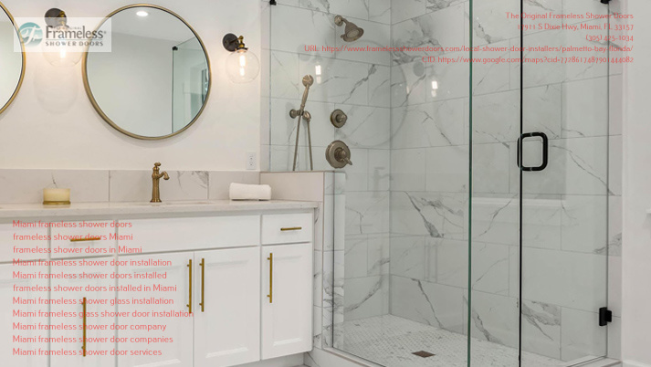 The Original Frameless Shower Doors explains the perks of frameless shower doors