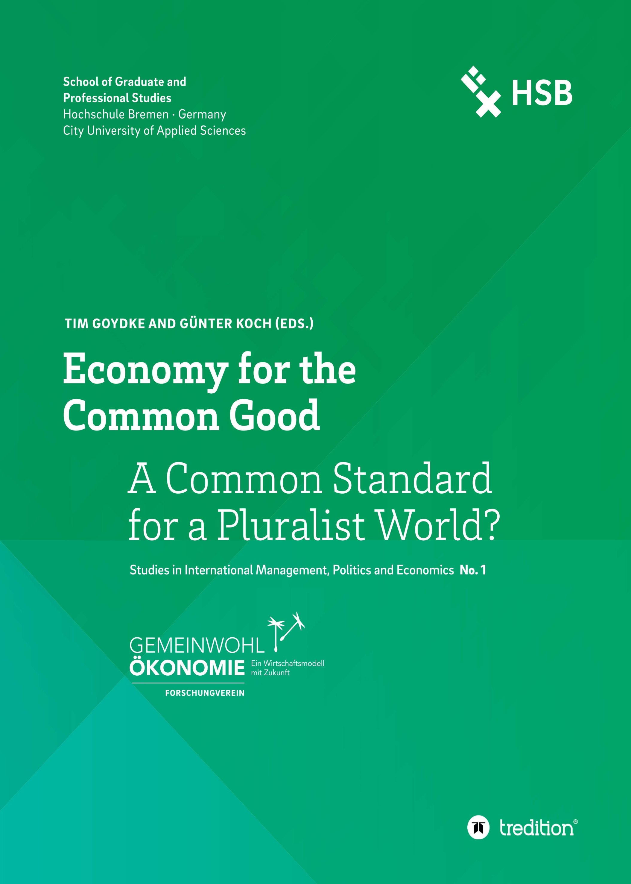 Economy for the Common Good - Insightful scholarly texts