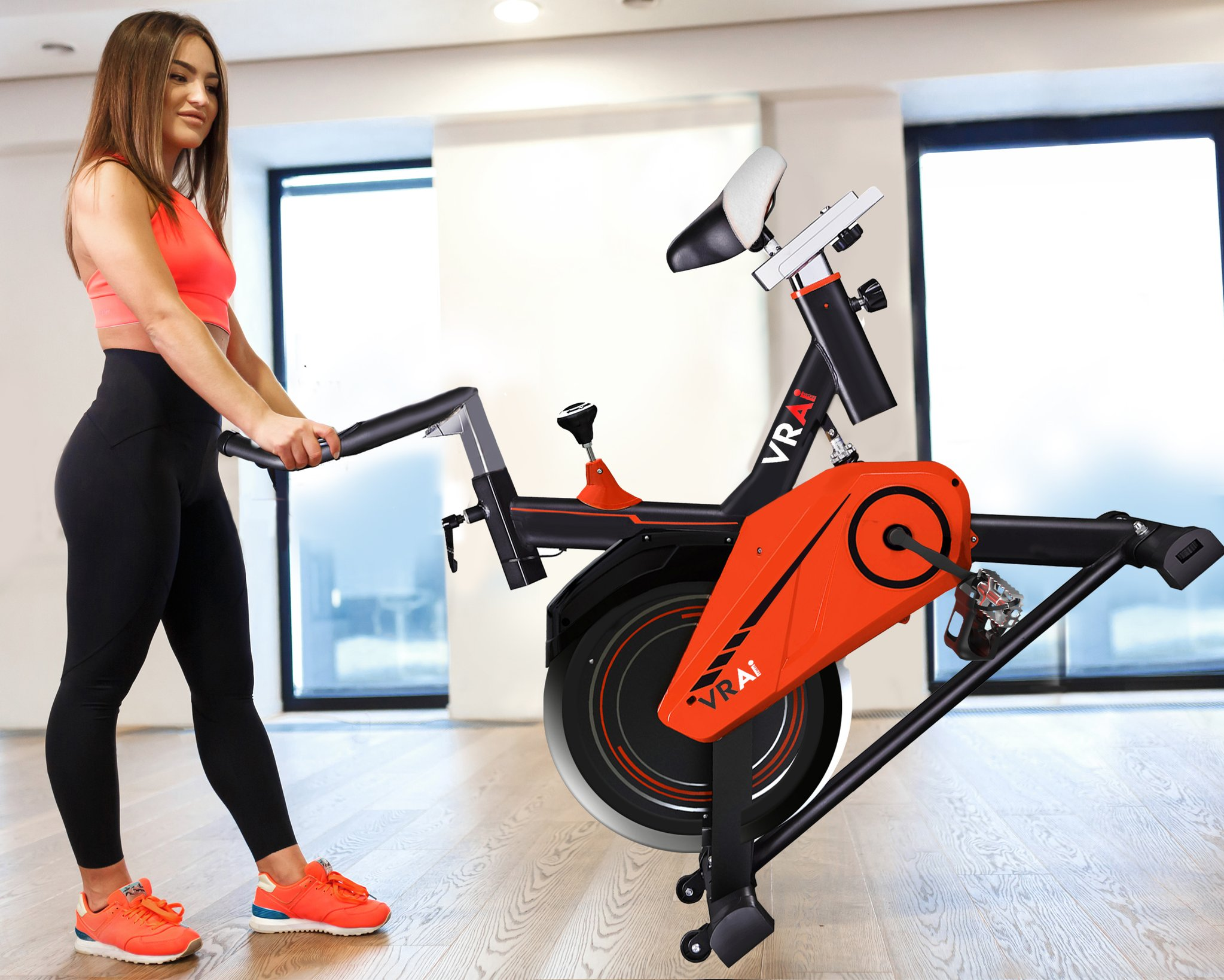 VRAi Introduces Affordable Spin Bike SB1000X with Bluetooth Phone Sync, Durable Design, and Comfort