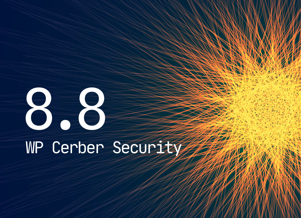 Cerber Tech announces a major release of WP Cerber Security
