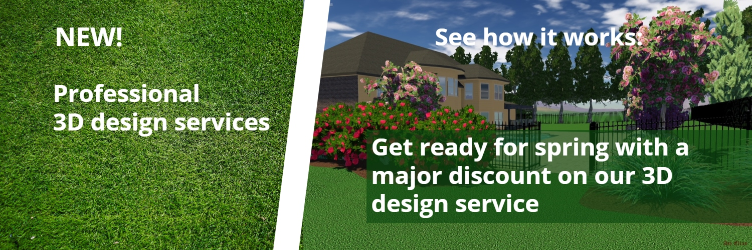 Atlanta Landscaping Company Announces Special Promotional Pricing For 3D Design Landscaping Projects.