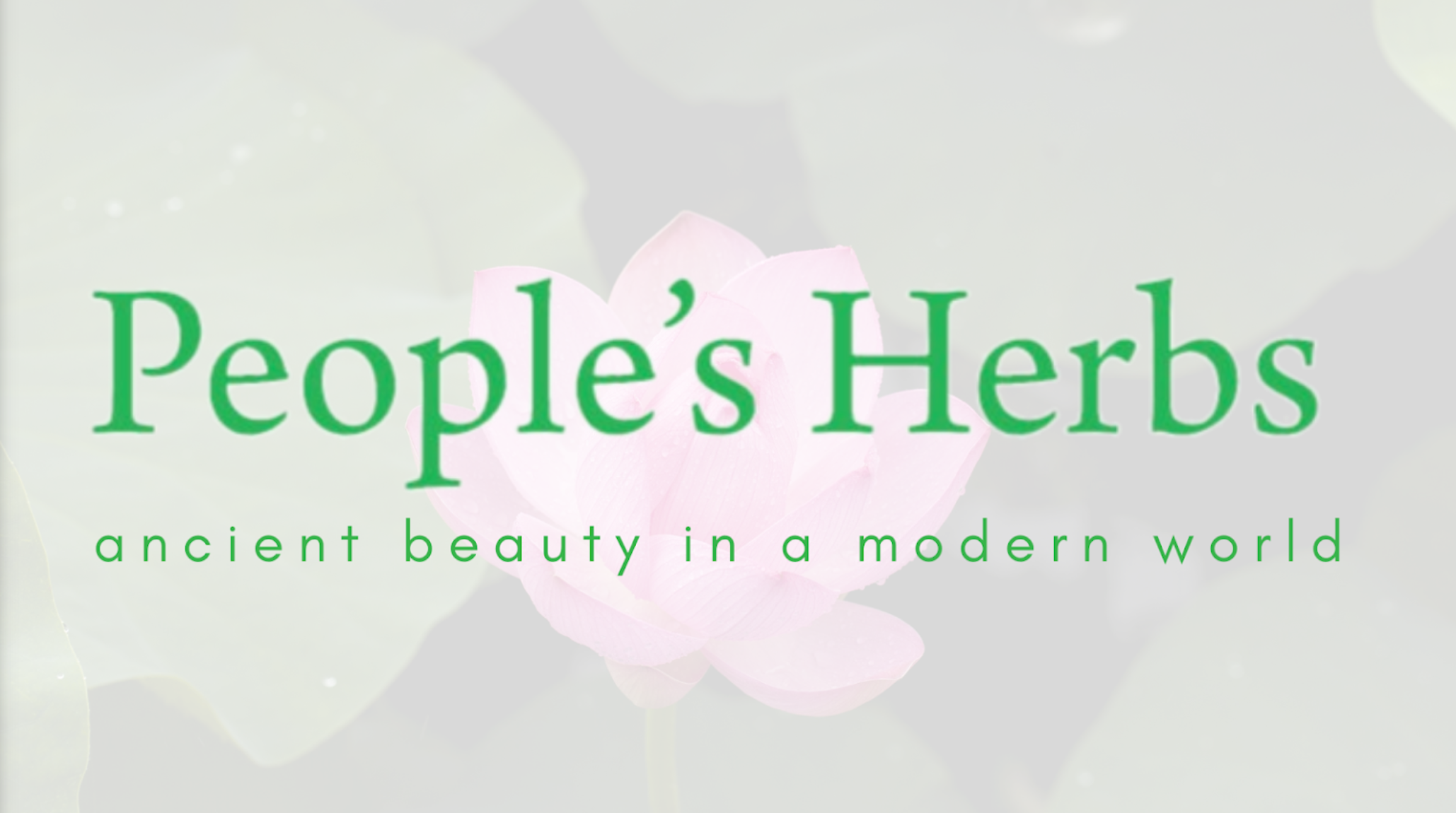 People's Herbs Brings Practitioner-Based Formulas to the Public