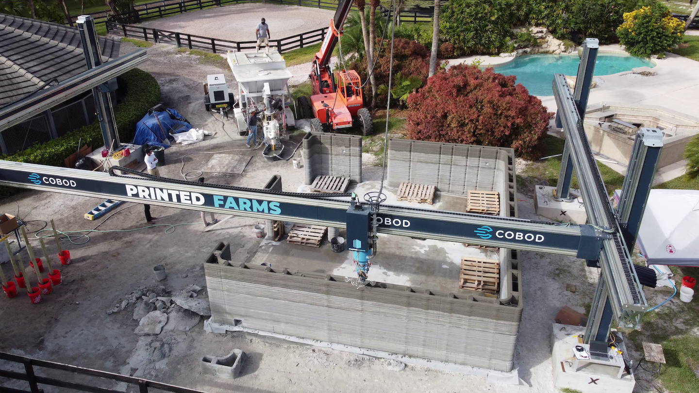 Printed Farms 3D prints the first building in Florida on the way to making 3D construction printing the standard choice for custom, commercial, and mass construction projects
