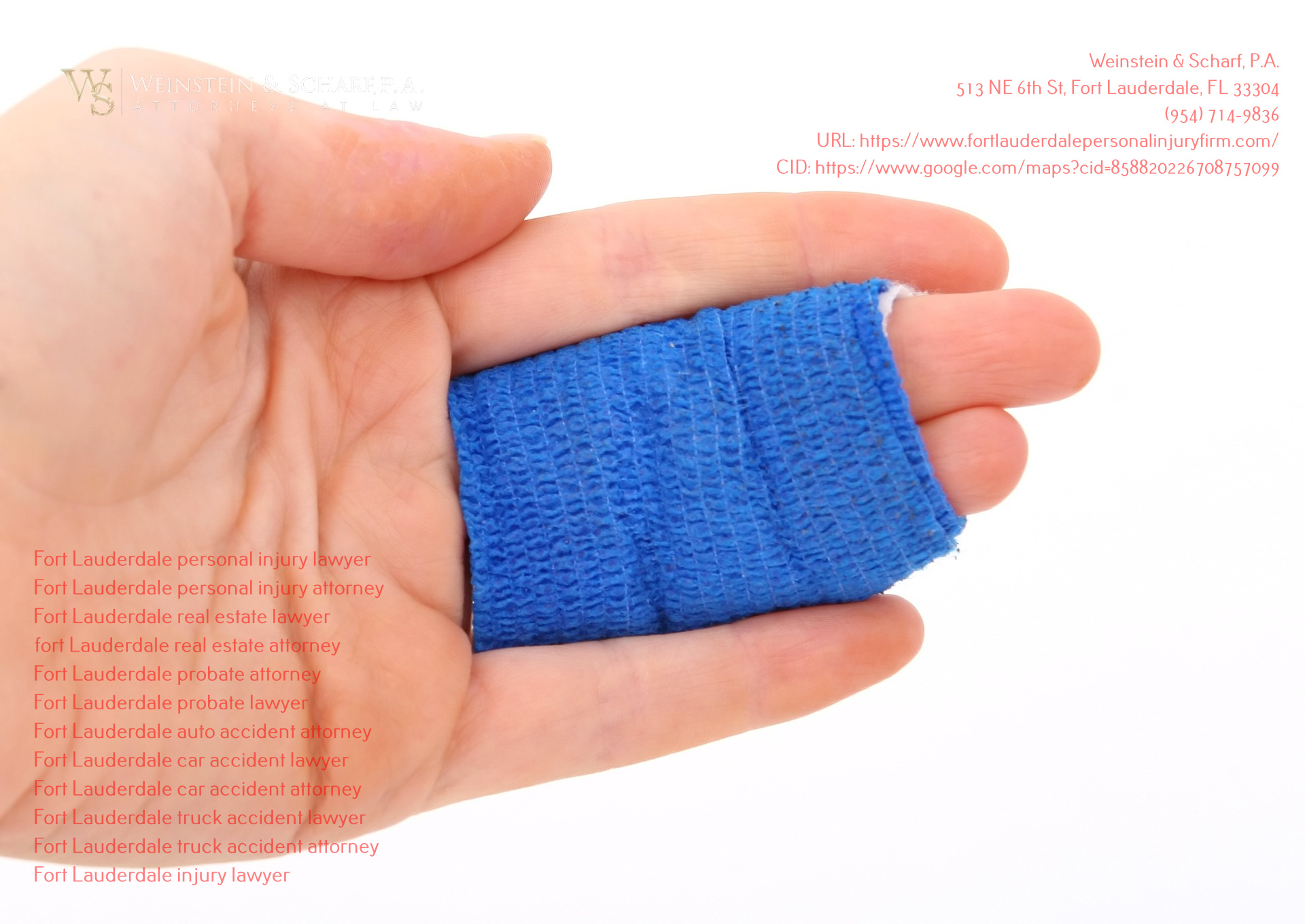 Weinstein & Scharf, P.A. Provides Tips for Handling Insurance Companies After an Injury