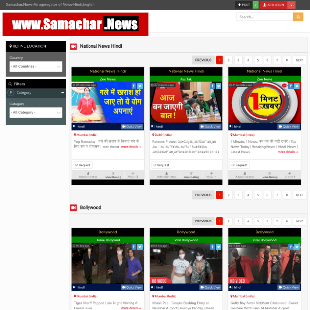 Samachar.News Upgrades Its News Aggregator Technology