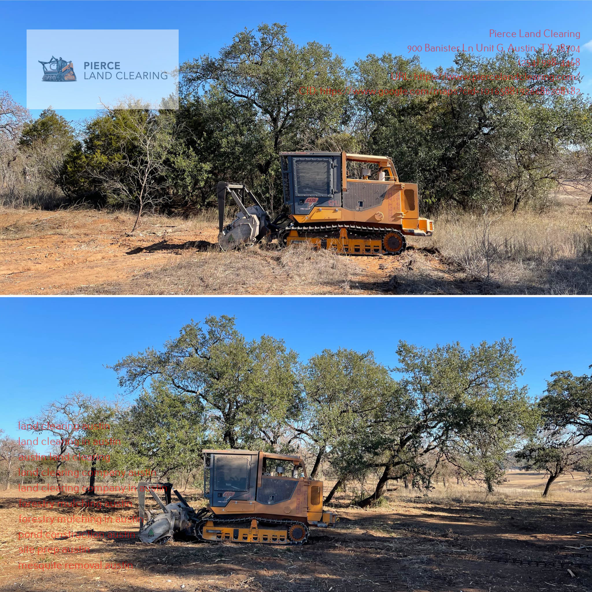 Pierce Land Clearing Stresses the Need to Seek Professional Forestry Mulching Services