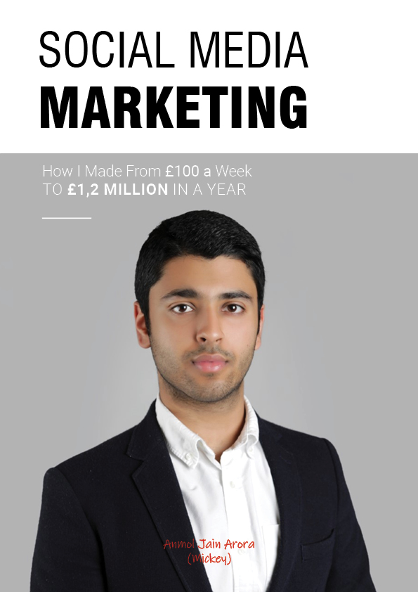 Anmol Jain Arora (aka. Mickey Arora) and His Success Recipe for Social Media Marketing