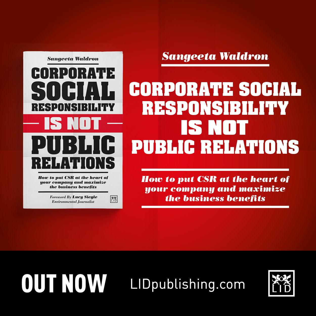 New Book: Corporate Social Responsibility is Not Public Relations