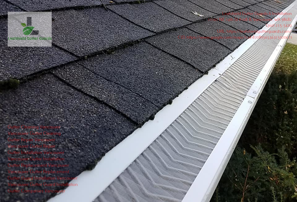 Leafshield Gutter Guards & Installation Mention Reasons People Should Hire Gutter Cleaning Services