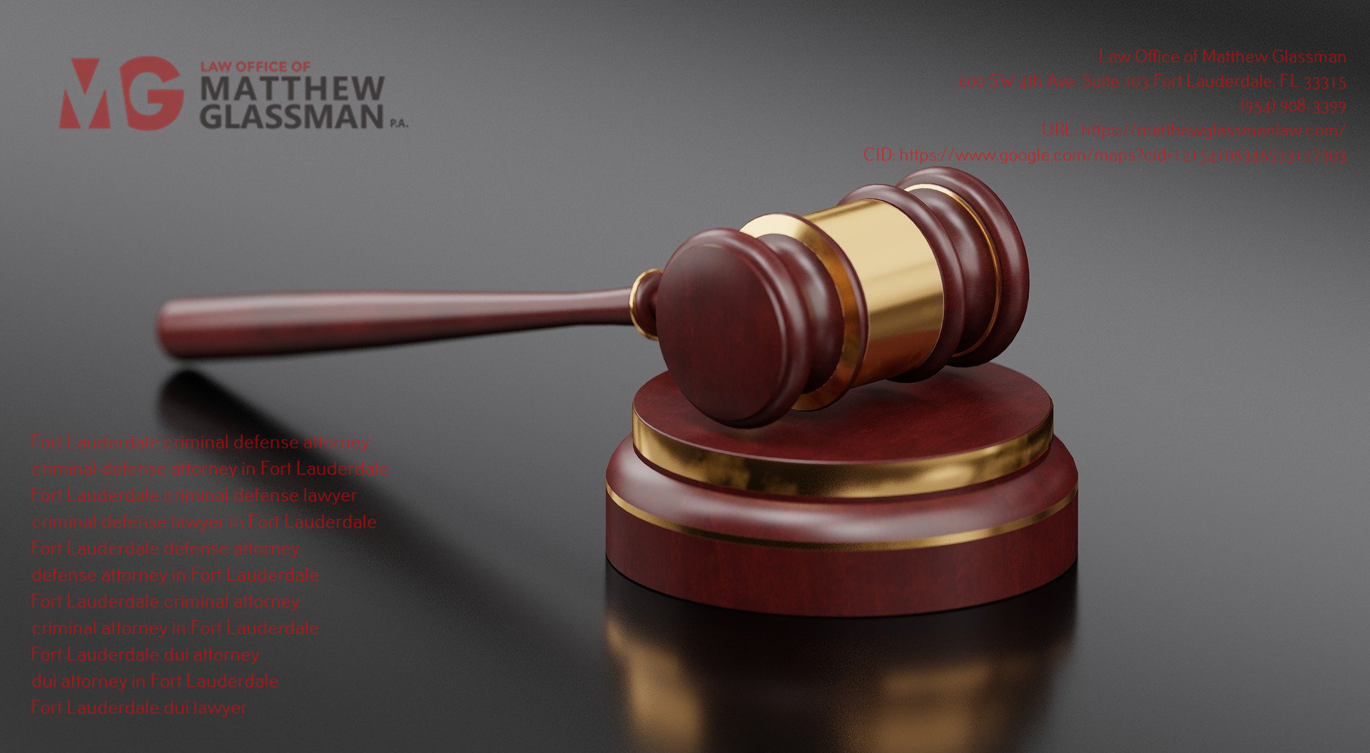 Law Office of Matthew Glassman Expounds on the Qualities of a Good Criminal Defense Attorney