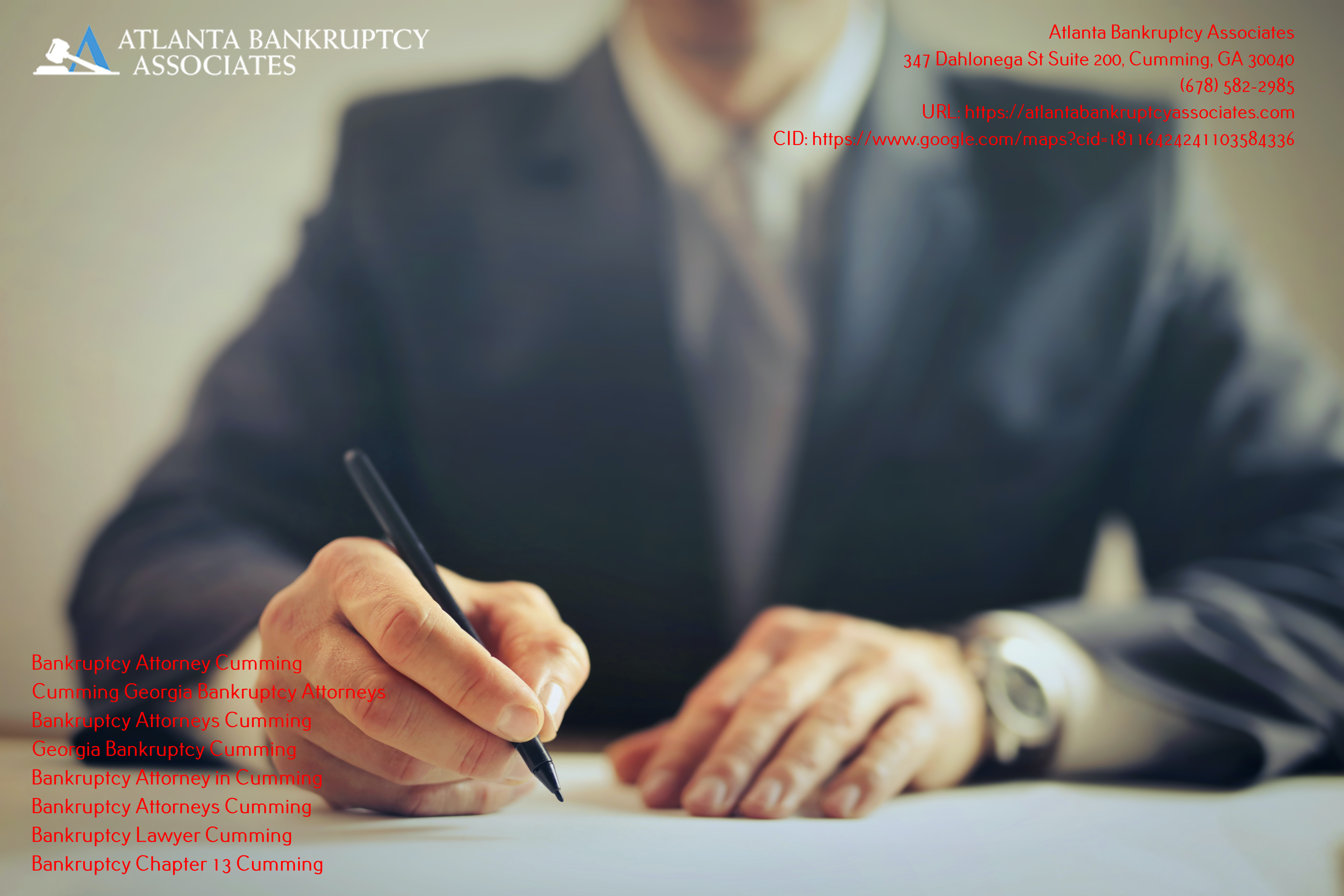 Atlanta Bankruptcy Associates is Helping People Understand the Type of Bankruptcy Right for Them