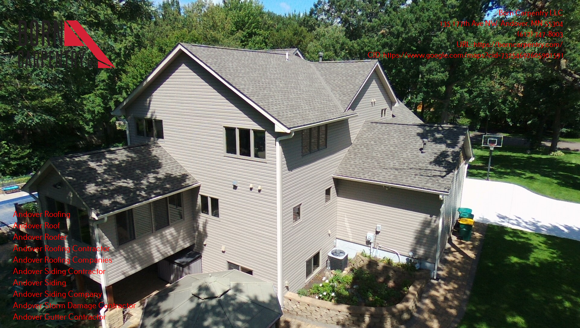 Born Carpentry LLC Offers Free Roof Inspections