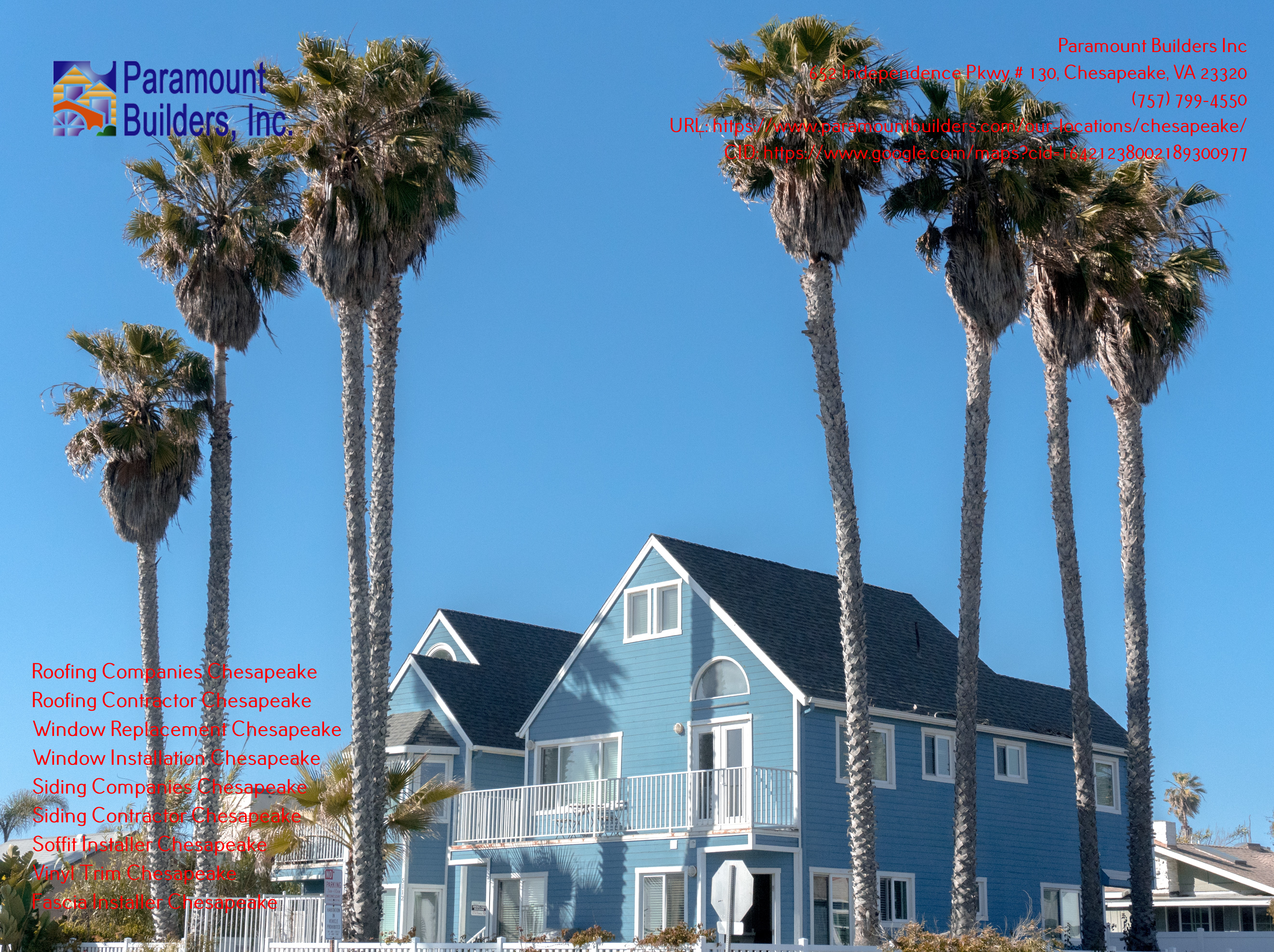 Paramount Builders Inc Provides Tips on Hiring the Best Chesapeake Roofing Companies