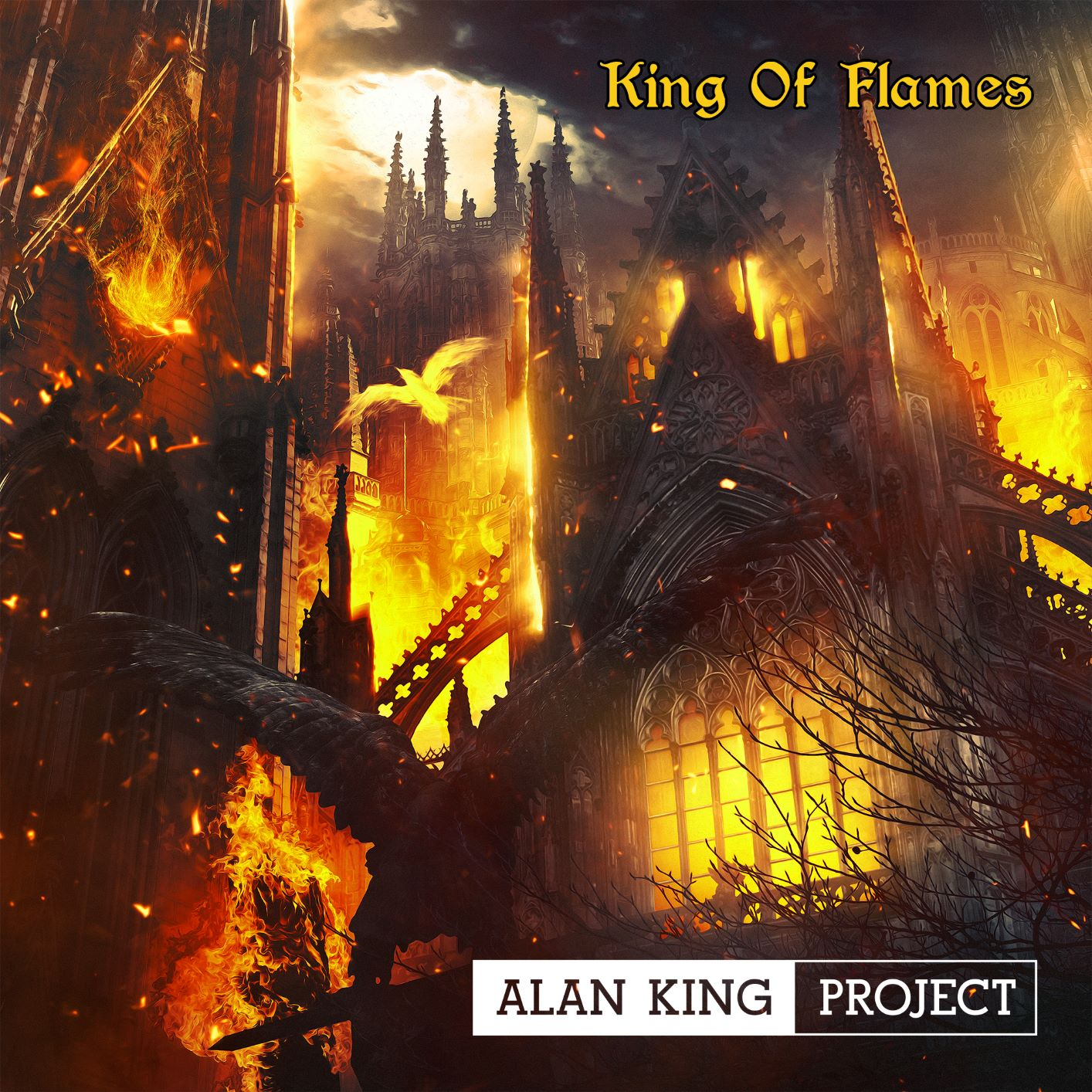 A Groundbreaking Mix of Heavy Metal and Soothing Classical With Alan King Project's 'King of Flames'