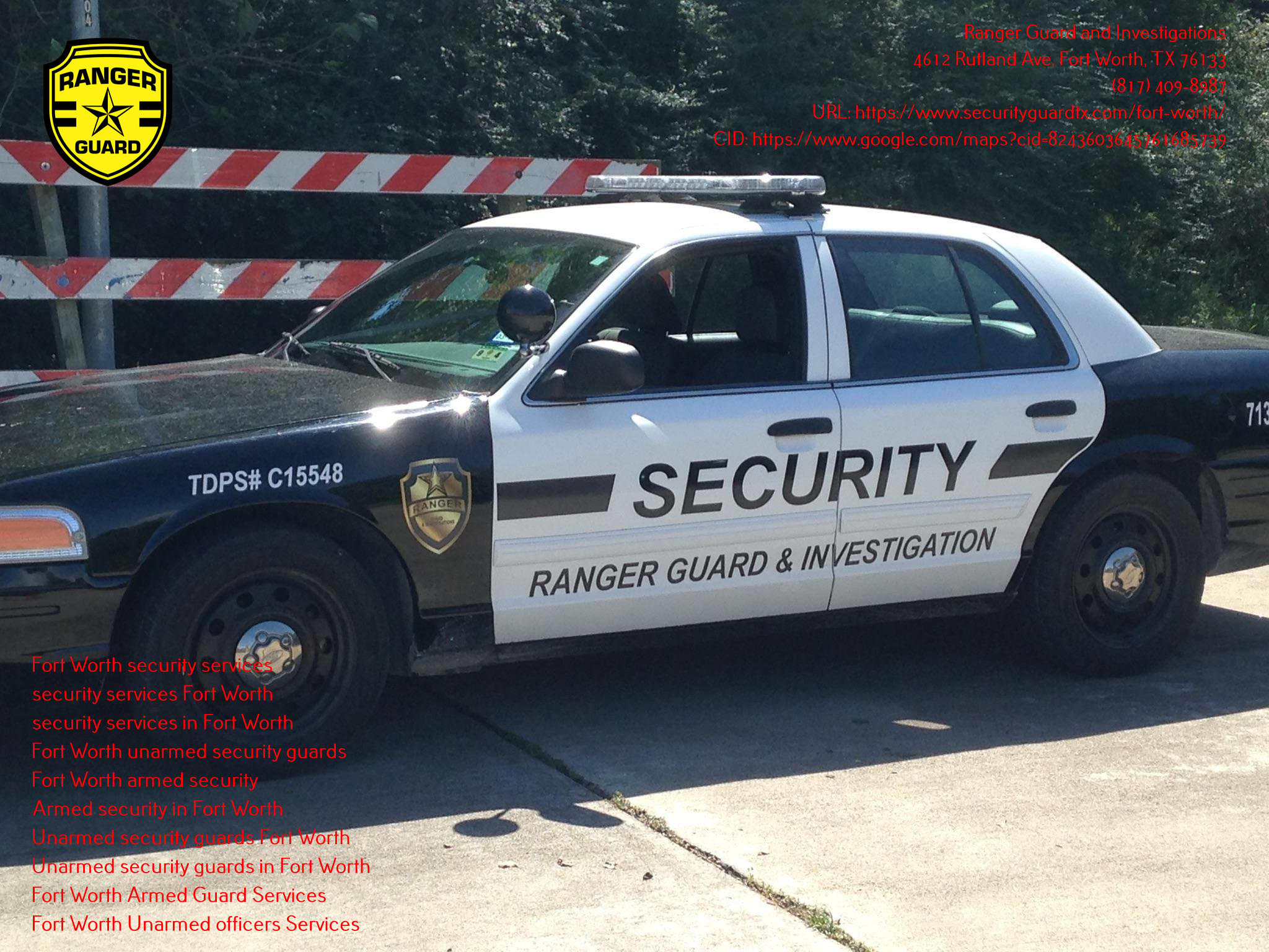 Ranger Guard and Investigations Announces Armed and Unarmed Security Services for Different Occasions