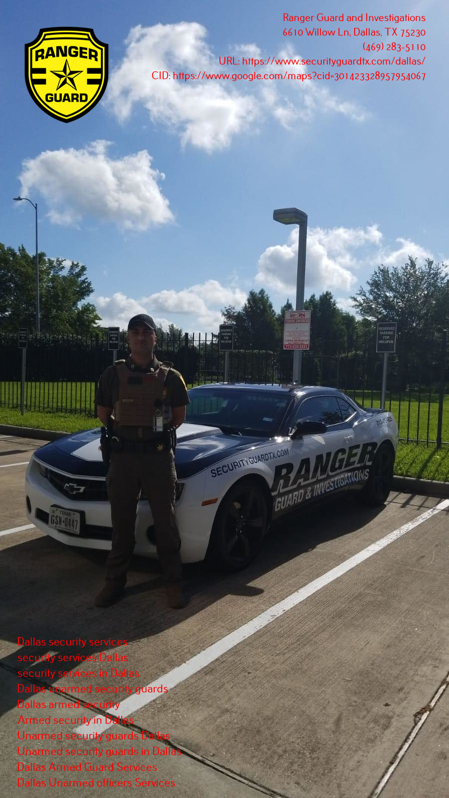 Feel safe with Ranger Guard and Investigation