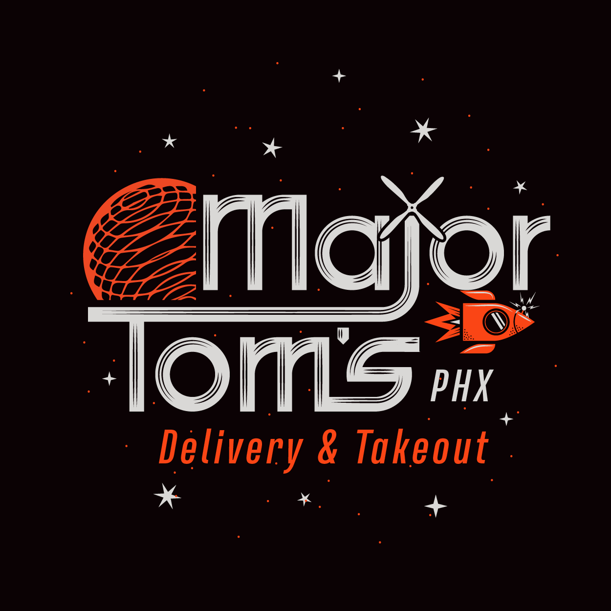Phoenix Restaurant Scene Gets Ghosted: A New Trend Begins With Major Tom's PHX Takeout & Delivery